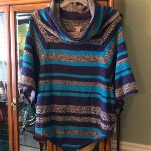 New Directions drape-style sweater.